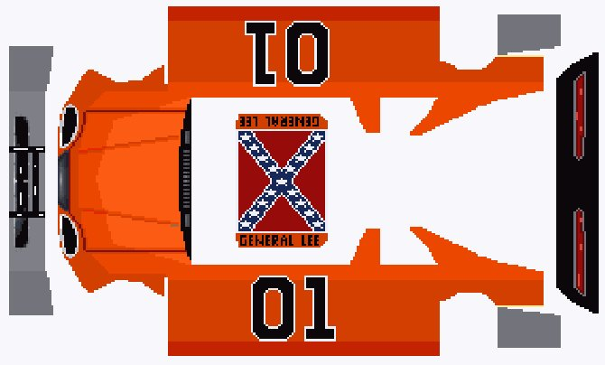 General Lee01 http://www.justingreene.org/gameskins.php